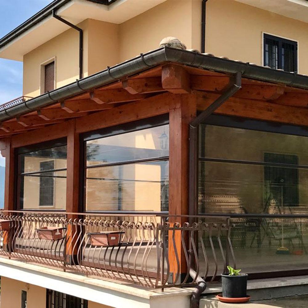 Tende per veranda esterna mh41 regardsdefemmes for Tende x esterno